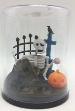 Halloween Battery Grave Scene Solar Powered Scene Animated Bobble Swing New