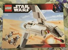 LEGO 7659 Imperial Landing Craft Star Wars Instruction Manual Book Only