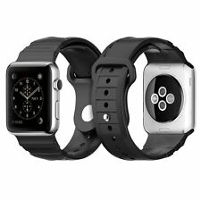 Spigen Apple Watch Strap 42mm TPU Rugged Band - Black