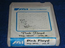 PINK FLOYD - The wall vol. 2 - STEREO 8 TRACK