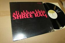 ALI AKBAR KHAN shree rag ragas STEREO LP indian world sitar IN SHRINK NM