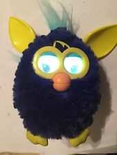 HASBRO FURBY BOOM AUBERGINE NAVY 2012 TOY SENSOR & LCD EYES SOUNDS INTERACTIVE