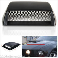 Autos Car Decorative 3D Simulation Air Flow Intake Hood Scoop Bonnet Vent Cover