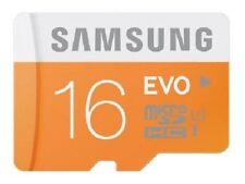 Samsung EVO 16GB MicroSD SDHC Micro SD Memory Card 48MB/s. (Pack Of 2)