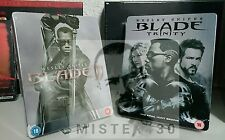 Marvel BLADE 2 II + 3 III limited exclusive Blu ray Steelbook's New&sealed uncut