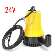 24V 1620GPH 6000L/H Submersible Water Pump Clean Clear Dirty Pool Pond Flood