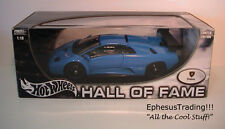 Hot Wheels Hall Fame Lamborghini Diablo GTR Coupe 6.0 V12 Blue w/Black 1/18 MINT