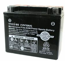 12V 10AH Battery YTX12-BS Scooter Atv Go kart dirt bike  (HS104-57)