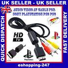 Phono HD Audio Video AV To HDTV TV Cable Converter for Playstation 2 3 PS1 B124