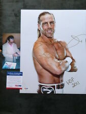 Shawn Michaels Hot! signed WWE HOF 2011 11x14 photo PSA/DNA cert PROOF!!