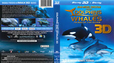 Dolphins and Whales 3D - Tribes Of The Ocean (3D Blu-ray, 2010)