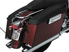 Harley FLHTCUSE2 Ultra Classic 2007Plain Saddlebag Lid Covers Black by Kuryakyn