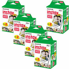 80 Prints Fujifilm Instax Mini Instant Film for Fuji 8, 7S, 50S, 90, 25 Camera