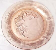 1930s Pink Federal Sharon Cabbage Rose Dinner Plate 9 in