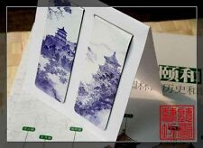 Set of 2 Chinese Ancient Painting Magnetic Bookmark