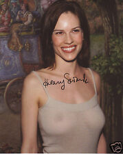 HILARY SWANK AUTOGRAPH SIGNED PP PHOTO POSTER 1