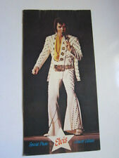 ELVIS PRESLEY 1973 Concert program