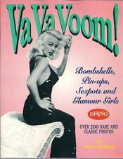 VA VA VOOM! BOMBSHELLS & GLAMOUR GIRLS RHINO 1995 LG SOFT CVR BETTIE PAGE++  NEW