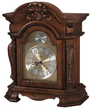 Howard Miller 635-188 (635188) Beatrice Mantel/Mantle/Shelf Clock -Rustic Cherry