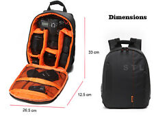 DSLR Compact Backpack Camera Case Bag For Canon EOS 50D 60D 60Da 6D 7D