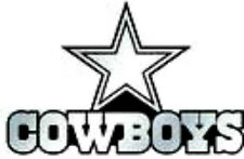 38 water slide nail art transfer dallas cowboys decals 3/8 inch Trending