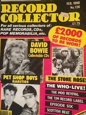 Record Collector Mag David Bowie The Who Stone Roses Uriah Heap Pet Shop Boys Cd