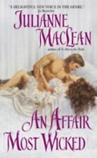 An Affair Most Wicked by Julianne MacLean (2006, HC not in eBay catalog)