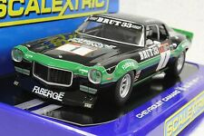 SCALEXTRIC C3612 '70 CHEVROLET CAMARO FABERGE RACING NEW 1/32 SLOT CAR DPR