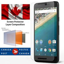 3x Nexus 5x LG Google 2015 Front Ultra Clear HD Screen Protector Free S/H Canada