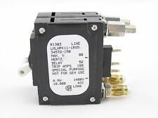 AIRPAX 150 AMP HYBRID BOLT IN CIRCUIT BREAKER LMLHPK11-1RS5-34572-150*