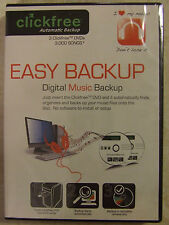 EASY BACKUP - DIGITAL MUSIC BACKUP by Clickfree Automatic Backup