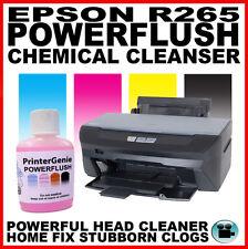 Epson Stylus Photo R265 cabeza limpiador: Boquilla Limpiador Cabezal De Impresión Desatascador