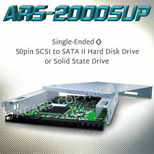ACARD ARS-2000SUP 50pin SCSI to SATA II Solid State or Hard Disc Drive Bridge