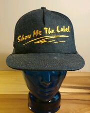 Vtg Denim Union Hat Cap Trucker Snapback SMWIA Sheet Metal Workers