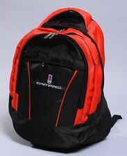NEW CHEVROLET CAMARO BLACK BACKPACK BAG flag corvette blazer banner