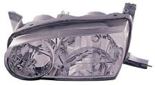 2001-2002 Toyota Corolla New Left/Driver Side Headlight Assembly