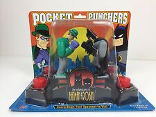 The Adventures of Batman and Robin: Batman vs. Riddler Pocket Punchers NEW NOS
