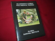 G4  WILDERNESS & COMBAT FIELD MEDICAL TRAINING GUIDE - MEDIC-MILITARY FIRST AID