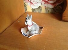 Itty Bitty United Design 1986 terrier figurine