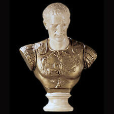 Julius Caesar Roman general dictator Sculpture Statue Bust replica reproduction