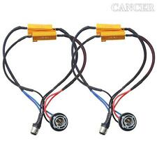 2pcs 1157 2357 Hyper Flash Fix No Error Wiring Adapter For LED Turn Signal Light