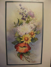 """Original Unframed Signed Approx. 7 1/2""""x14"""" Watercolor Painting by Mary E Cardin"""