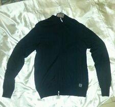 CARLO PIGNATELLI maglioncino sweater leggero con zip size tg. 52 black nero