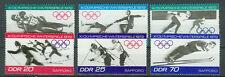 DDR Briefmarken 1971 Olympia  Mi.Nr. 1725 bis 1730 **