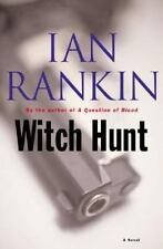 WITCH HUNT Ian Rankin stated 1st American Ed 2004 Mystery Hardcover & Jacket