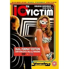 The 10th Victim (1965) - Ursula Andress: New Blu-Ray / DVD