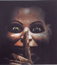 Dead Silence Sticker  Decal Ventriloquist Dummy  Spooky Scary Horror New