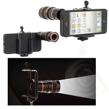 8x Zoom Optical Lens Telescope Universal Holder For Camera Mobile Phone iPhone7