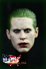 IN STOCK 1/6 Joker Jared Leto Head Sculpt For Suicide Squad HotToys Phicen ❶USA❶