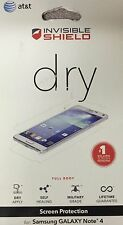 Zagg Invisible Shield Dry Screen Shatter Protection for Samsung Galaxy Note 4